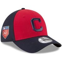 Cleveland Indians mlb new era flex training спортивная бейсболка темно-синяя