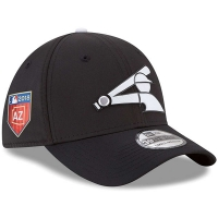 Chicago White Sox mlb new era flex training спортивная бейсболка черная