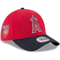 Los Angeles Angels mlb new era flex spring спортивная бейсболка красная