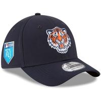 Detroit Tigers mlb new era flex training спортивная бейсболка темно-синяя