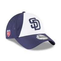 San Diego Padres mlb new era training спортивная бейсболка белая