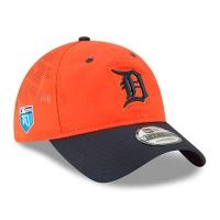 Detroit Tigers mlb new era спортивная бейсболка оранжевая