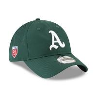 Oakland Athletics mlb new era spring спортивная бейсболка зеленая