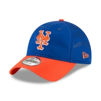 New York Mets mlb new era training спортивная бейсболка синяя