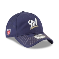 Milwaukee Brewers mlb new era спортивная бейсболка синяя