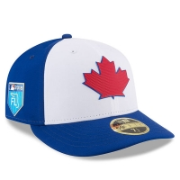 Toronto Blue Jays mlb new era fitted спортивная бейсболка синяя
