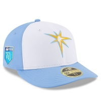Tampa Bay Rays mlb new era fitted спортивная бейсболка белая