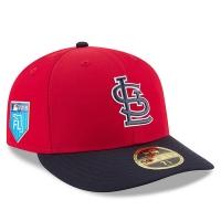 St Louis Cardinals mlb new era fitted спортивная бейсболка красная