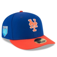 New York Mets mlb new era fitted спортивная бейсболка синяя