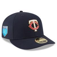 Minnesota Twins mlb new era fitted спортивная бейсболка темно-синяя
