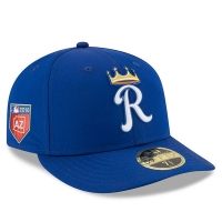 Kansas City Royals mlb new era fitted спортивная бейсболка синяя