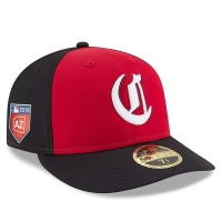 Cincinnati Reds mlb new era fitted спортивная бейсболка черная