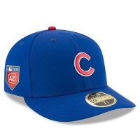Chicago Cubs mlb new era fitted low profile спортивная бейсболка синяя