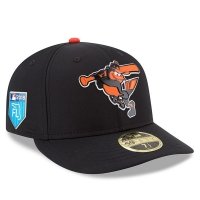 Baltimore Orioles mlb new era fited спортивная бейсболка черная