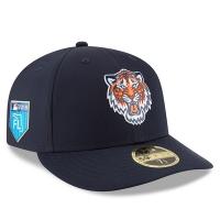 Detroit Tigers mlb new era fitted спортивная бейсболка темно-синяя