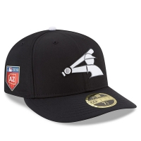 Chicago White Sox mlb new era fitted спортивная бейсболка черная