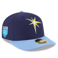 Tampa Bay Rays mlb new era fitted спортивная бейсболка синяя