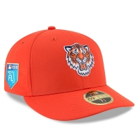 Detroit Tigers mlb new era fitted спортивная бейсболка оранжевая