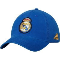 Real Madrid CF adidas футбольная бейсболка синяя