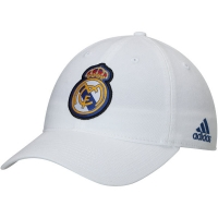 Real Madrid CF adidas футбольная бейсболка белая