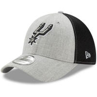 San Antonio Spurs nba new era flex-fit neo спортивная бейсболка черно-серая