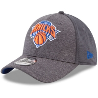 New York Knicks nba new era flex-fit shadowed спортивная бейсболка серая