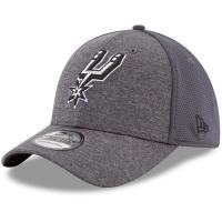 San Antonio Spurs nba new era flex-fit shadowed спортивная бейсболка серая