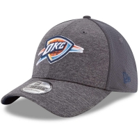 Oklahoma City Thunder nba new era flex-fit shadowed спортивная бейсболка серая