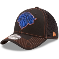 New York Knicks nba new era flex-fit neo спортивная бейсболка черная