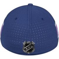 Vancouver Canucks nhl adidas flex-fit хоккейная бейсболка синяя