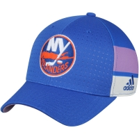 New York Islanders nhl adidas flex-fit хоккейная бейсболка синяя