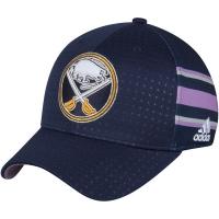 Buffalo Sabres nhl adidas flex-fit хоккейная бейсболка темно-синяя