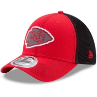 Kansas City Chiefs nfl new era flex pop спортивная бейсболка красно-черная