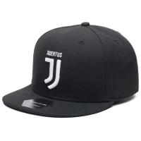 Juventus FC snapback футбольная кепка с прямым козырьком черная