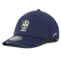 Brasil vintage футбольная спортивная бейсболка синяя