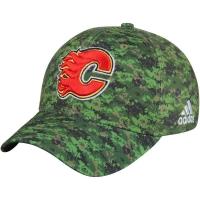 Calgary Flames nhl adidas flex-fit canada хоккейная бейсболка камуфляжная