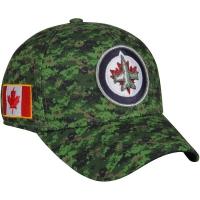 Winnipeg Jets nhl adidas flex-fit canada хоккейная бейсболка камуфляжная