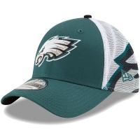 Philadelphia Eagles nfl new era flex спортивная бейсболка с сеткой зеленая