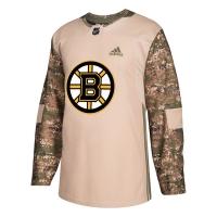 Boston Bruins nhl adidas veterans day хоккейный свитер камуфляжный