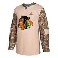 Chicago Blackhawks nhl adidas veterans day хоккейный свитер камуфляжный