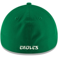 Philadelphia Eagles nfl new era flex throwback спортивная бейсболка зеленая