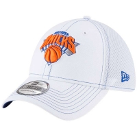 New York Knicks nba new era flex-fit neo спортивная бейсболка белая