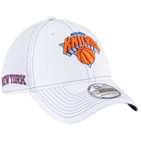 New York Knicks nba new era flex-fit neo спортивная бейсболка белая