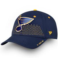 St Louis Blues nhl fanatics draft flex-fit хоккейная бейсболка синяя