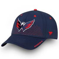 Washington Capitals nhl fanatics draft flex-fit хоккейная бейсболка синяя