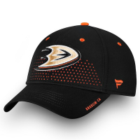 Anaheim Ducks nhl fanatics draft flex-fit хоккейная бейсболка черная