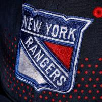 New York Rangers nhl fanatics draft flex хоккейная бейсболка синяя