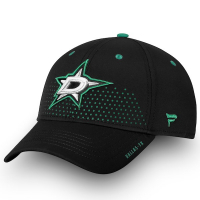 Dallas Stars nhl fanatics draft flex-fit хоккейная бейсболка черная