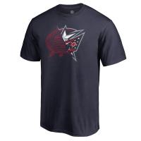 Columbus Blue Jackets nhl x-ray хоккейная футболка