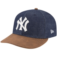 New York Yankees mlb new era NY levi's collection спортивная бейсболка синяя